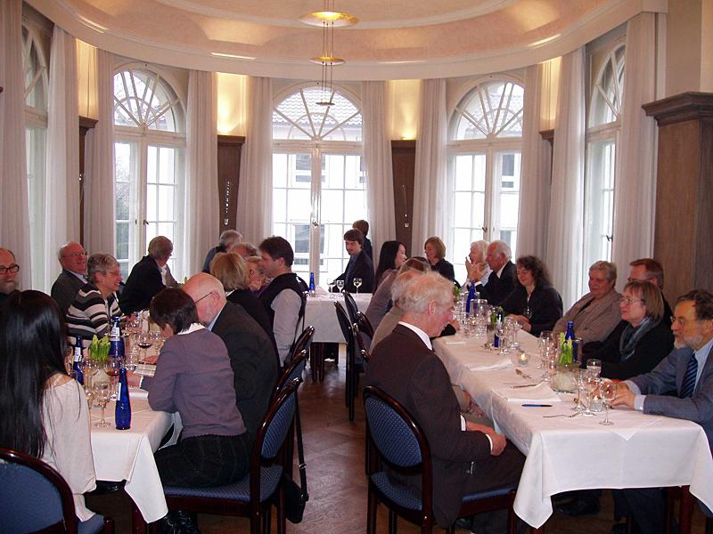 Neujahrsempfang 2011: Deutsche Gesellschaft für Gartenkunst und Landschaftskultur e.V.